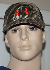 Under Armour Realtree MAX 5 Men's Camo/Blaze Orange UA Snap Back Hat Sz OS **