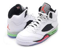 Brand New Mens Air Jordan 5 Retro 136027-115 White/Infrared 23 Size 9