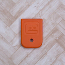 A00258 Glock orange magazine floor plate; fits Glock 17, 19, 22, 23, 26, 27, 34