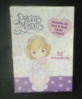 Precious Moments Fold & Seal Valentine Cards 32 Per Box 2003 NIB Paper Magic