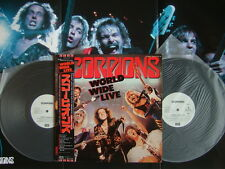 PROMO WHITE LABEL / SCORPIONS WORLD WIDE LIVE / WITH POSTER COMPLETE