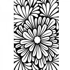 "Darice 4.23"" x 5.75"" Embossing Folder - 1219-111 - Bold Floral"