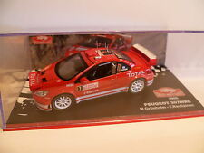 PEUGEOT 307 WRC N°7 M.GRONHOLM : RALLYE DE MONTE CARLO de 2005 ~  NEUF