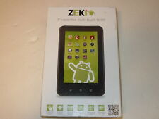 Zeki 7 Multi Touch Android Tablet  1GHz 8GB 1GB Ram Wi-Fi Black/white TB782B