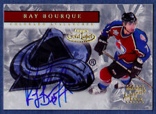 2000-01 Ray Bourque Topps Gold Label Autographs Auto Bruins