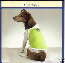 Pet Dog Clothes Tiki Tank Lime T-Shirt Size X-Small