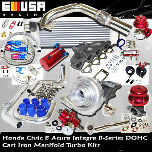 Turbo Kit for 94-97  Del Sol VTEC 1.6L DOHC VTEC I-4 160HP B16A B16B