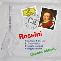 CLAUDIO ABBADO/WP/LSO/+ - ROSSINI-BARBIERE/CENERENTOLA/ITALIANA/REIMS  9 CD NEW!