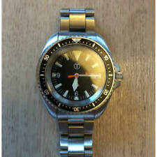 Rare British Army-supplied black dial diver's watch
