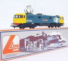 Lima HO OO British Railways Class 87 COCK O`THE NORTH ELECTRIC LOCOMOTIVE MIB`85