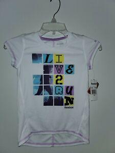 Girls Tshirt 6x Reebok..NEW w/tags