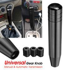 AU Universal Long Car Manual Gear Stick Gearstick Shifter Lever Knob Black 180mm