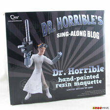 Dr. Horrible's Sing-A-Long Blog animated maquette Doctor Horrible statue by QMX