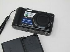 Sony Cyber-shot DSC-H55 14.1MP Digital Camera - Black, Clean and Tested