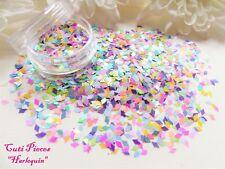 Arte en uñas * Arlequín * Pastel Rombo Diamante Holográfico Mezcla Spangle Brillo Pot