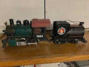 lgb g scale steam locomotive