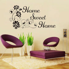 Flower NEW Removable Art Vinyl Quote Wall Sticker Decal Mural Home Room Decor