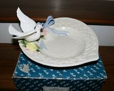 Fitz and Floyd Dove Heart Server Bowl in Original Box
