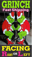 The GRINCH Stealing CHRISTMAS Lights Yard Art RIGHT or LEFT Facing FREE SHIP