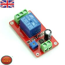 12V Delay Timer Relay NE555 Adjustable Delay Switch 1 to 20 Second DC New