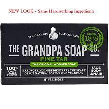 2 x Grandpa's Pine Tar Soap – Psoriasis, Dandruff, Eczema, Pregnancy PUPPS