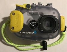 SEA & SEA UNDERWATER camera housing Water Proof Case DX-860g