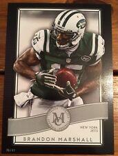 2015 Topps Museum 5X7 Brandon Marshall New York Jets #/49