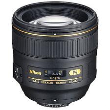 Nikon AF-S Nikkor 85mm F/1.4G Lens w/FREE Hoya NXT UV Filter *NEW*