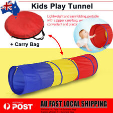 Kids Children Pop up Crawling Tunnel Toddlers Indoor Outdoor Play Baby Yard Toy