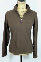 THE NORTH FACE Women's Zip Neck Fleece M TKA 100 Warmth Pullover Jacket