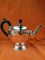 Antique Art Deco Sheffield Silver Plate Tea Pot EPNS 6 Cup C1930