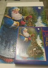 """Lynn Bywaters 1000 Piece Jigsaw Puzzle PEACE ON EARTH 20"""" x 27"""" Made in USA"""