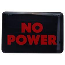 NO POWER Motorola XOOM 10.1-inch Tablet (MZ600) Verizon Locked - 32GB / Black
