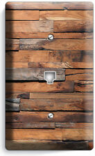RUSTIC RANCH BARN RECLAIMED WOOD PHONE TELEPHONE PLATE COVER CABIN ROOM HD DECOR