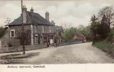 Railway Approach Gomshall Coop Shop Nr Guildford unused old pc