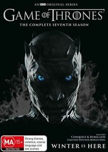 GAME OF THRONES Complete Season 7 (5-disc DVD set, 2017)