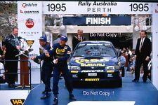 Colin McRae SUBARU IMPREZA 555 RALLY Australiano fotografia 1995 3