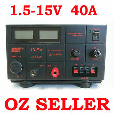 Linear Mode Variable Power Supply 1.5-15V 40A 13.8V 12V Ham for Radio Motorola