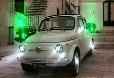 LED Bild Wandbild 65 cm x 45 cm Leuchtbild OLD CAR 500 Auto OLDTIMER