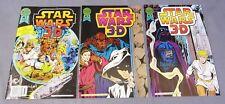 STAR WARS Blackthorne 3-D Series #1 2 3 (Full Run #30, 47 & 48) Comics 1987 1988