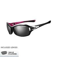 8cd7a252ac5 Tifosi Women S DEA SL 0090503251 Polarized Wrap Sunglasses Black and Pink  64 M