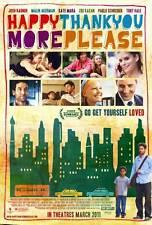 HAPPYTHANKYOUMOREPLEASE Movie POSTER 27x40 Malin Akerman Michael Algieri Bram