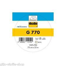 G770 bi-elastische Einlage Bekleidung Vlieseline aufbügelbar G 770 Freudenberg