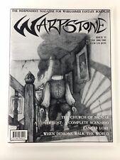 WARPSTONE MAGAZINE ISSUE 15 WARHAMMER FANTASY ROLEPLAY WFRP RPG WINTER 2000/2001