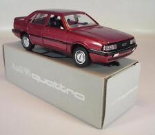 Schabak 1/43 Audi 90 Quattro rotmetallic in Werbebox #1224