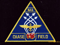 NAS CHASE FIELD PATCH US NAVAL AIR STATION NAVY PILOT CREW WING CAG USS GIFT WOW