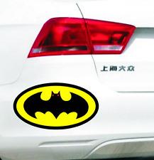 11 cm Batman Pattern car bonnet decals Auto modification Reflective stickers