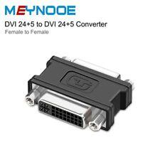 DVI DVI-D 24+1 DVI-I 24+5 Female To Female Adapter Extension Connector Converter