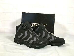Klim Transition GTX Boa Men's Boots Black Size 10 New