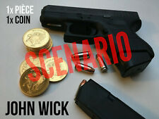 1X JOHN WICK Gold coin Pièce Or Continental Hotel High quality Movie Prop props